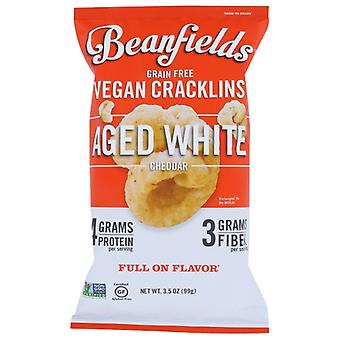 Beanfields Cracklins Aged Wht Chdr, Koffer van 6 X 3.5 Oz