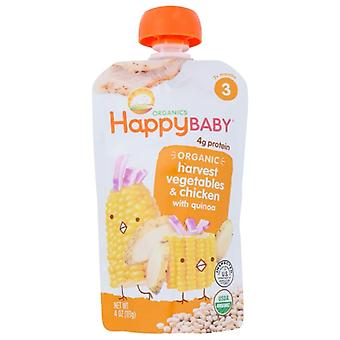 Happy Baby Stage3 Chick Chick Org, Case of 16 X 4 Oz