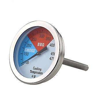 Bbq Thermometer Stainless Steel 100mm 100-475℉dial Temperature Gauge Kitchen Tools