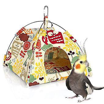Nou agățat panza papagal cort pasăre cușcă animal de companie universal pasăre cort hamac mic cuib de animale de companie