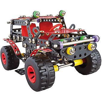 A 1270 Constructor Ranger Schwarze Spinne Metall Bausatz, 354 Teile Metallbaukasten, Metallbausatz