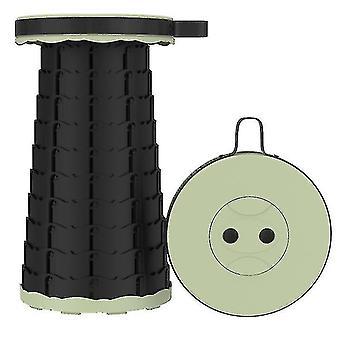Vancl Outdoor folding telescopic stool£?portable Adjustable stool for fishing(Fruit Green)