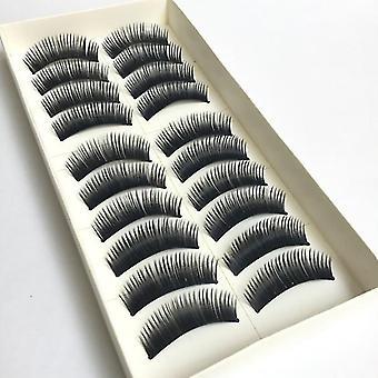 Women Fashion Thick Long False Eyelashes 10 Pairs