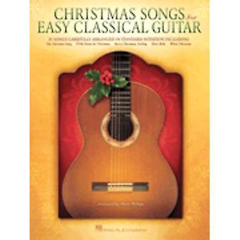 Canciones de Navidad para guitarra clásica fácil libro de guitarra sólo