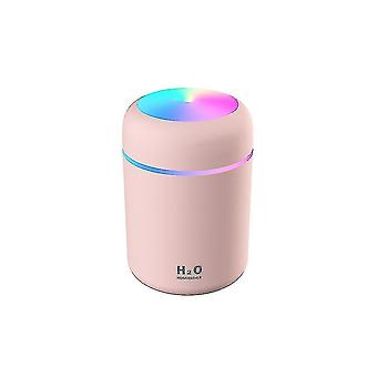 High quality humidifiers bedroom cool mist humidifier diffuser quiet ultrasonic humidifier pink #4572