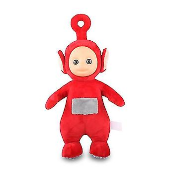 25cm Authentic Teletubbies Early Education Plush Toy-Plush Doll(Red)
