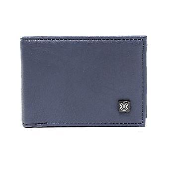 Element Segur Faux Leather Wallet in Indigo