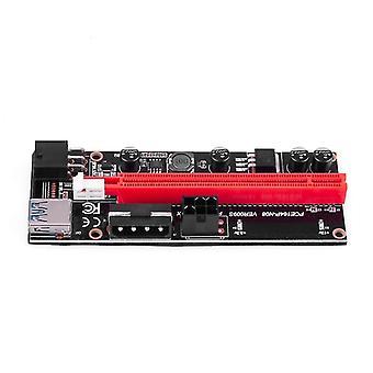 1x 4x 8x 16x Extender Pci E Usb Riser 009s Gpu Dual 6pin -sovitin