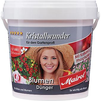 MAIROL Flowers Fertilizer Crystal, 1 kg, Crystal Miracle