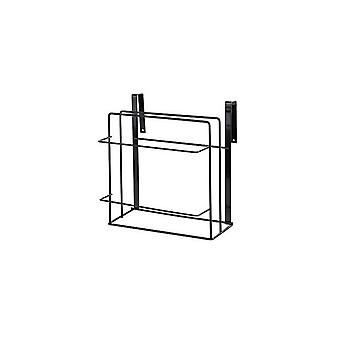 Double Layer Towel Rack Hanging Holder Cabinets Shelf Chopping Board Storage Holders & Racks