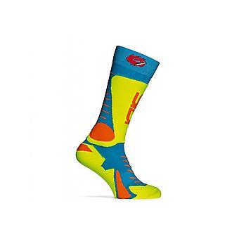 Sidi Socks Tony Light Blue/Yellow L/XL [274] [6]