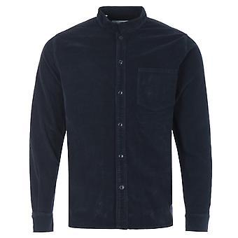 Barbour White Label Cord Newbury Shirt - Navy