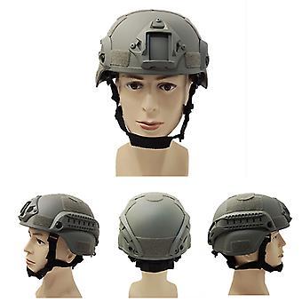 Taktischer Helm Grau Militärhelm Schutzhelm Cs Spielhelm