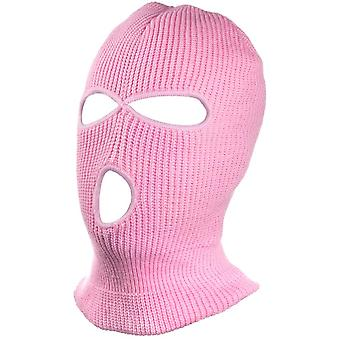 3 Hole Knit Ski Mask Full Face Cover pentru sporturi în aer liber cald moale