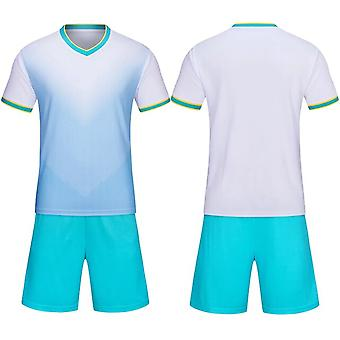 The Latest White Children's And Adult General-purpose Football Training Suits