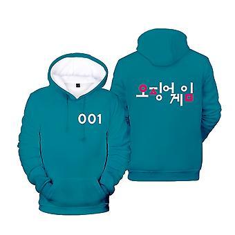 Ywy2 Squid Game Actor's Jacket Hooded Sweatshirt