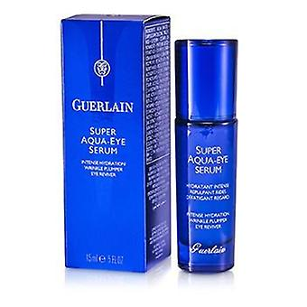 Guerlain Super Aqua Eye Serum - intensive Hydratation Falten praller Auge Erneuerer - 15ml / 0,5 oz