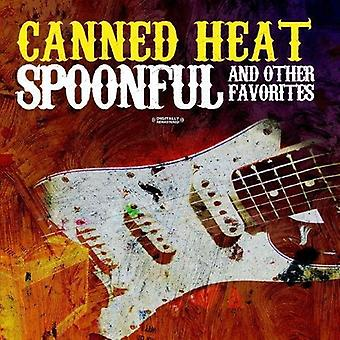 Canned Heat - lusikallinen & muut Suosikit [CD] Yhdysvallat tuoda