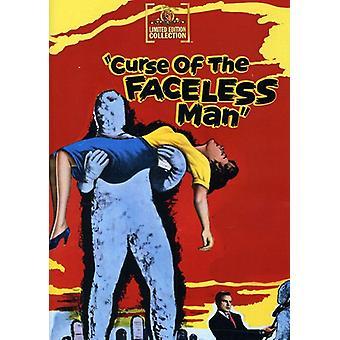 Förbannelse av ansiktslösa mannen [DVD] USA import