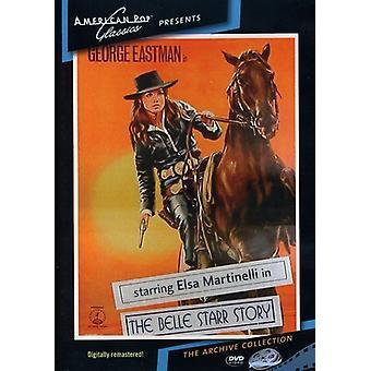 Belle Starr Story (1968) [DVD] USA import