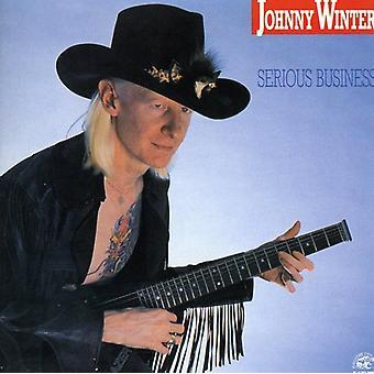 Johnny Winter - importación de Estados Unidos negocio serio [CD]