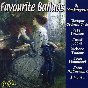 Favourite Ballads of Yesteryear - Favourite Ballads of Yesteryear [CD] USA import
