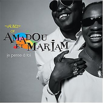 Amadou Et Mariam - Je Pense a Toi (I Think of You): Best of [CD] USA import