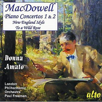 E. Macdowell - Macdowell: Piano Concertos nos 1 et 2 [CD] USA import