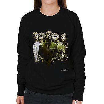 Oase Band Liam Noel Gallagher Damen Sweatshirt