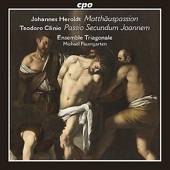 Clinio, Teodoro / Ensemble Triagonale - Johannes Heroldt: Matthauspassion - Teodoro Clinio [CD] USA import