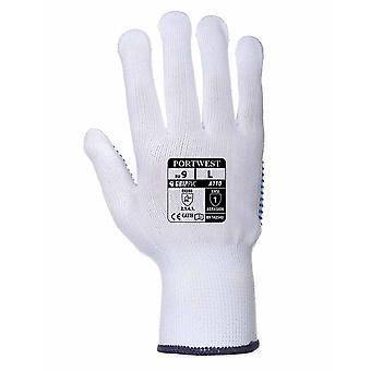 Portwest - guante de garra de lunares (paquete de 6 pares)