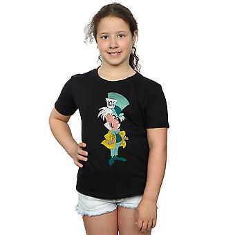 Disney Girls Alice In Wonderland Classic Mad Hatter T-Shirt