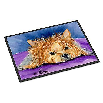 Carolines Treasures  SS8749MAT Yorkie Indoor Outdoor Mat 18x27 Doormat