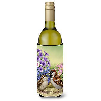 Varpusia Viini pullo juoma eriste Hugger