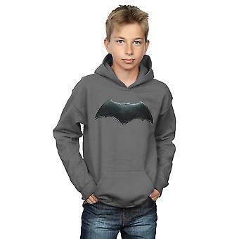 DC Comics Boys Justice League Movie Batman Emblem Hoodie