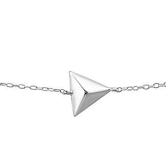 Triangle - 925 Sterling Silver Chain Bracelets - W23279X