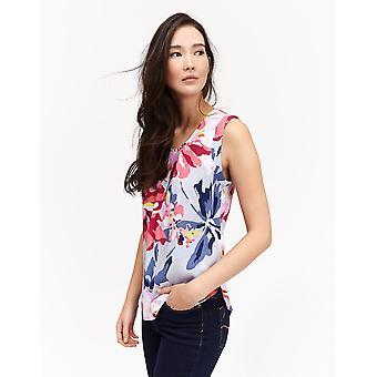 Joules Womens/dames Alyse imprimé T Shirt débardeur flatteur
