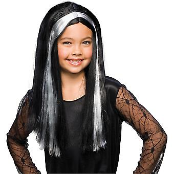 Witch Wicked Wizard Story Book Week Halloween Child Girls Costume Wig