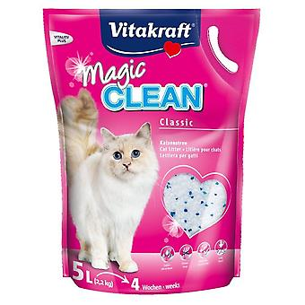 Vitakraft Magic Clean Pearl cat de gunoi 5Ltr 2300g