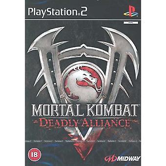 Mortal Kombat Deadly Alliance (PS2) - Nouvelle usine scellée