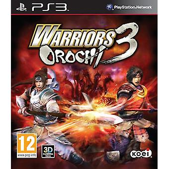 Warriors Orochi 3 (PS3) - Factory Sealed