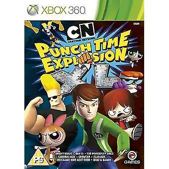 Cartoon Network Punchtime eksplosion XL (Xbox 360)-fabriks forseglet