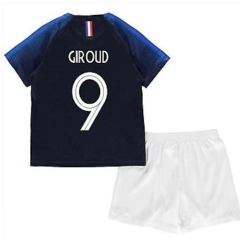 2018-2019 France Home Nike Mini Kit (Giroud 9)