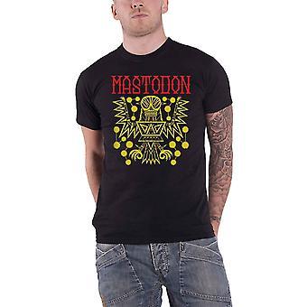 Mastodon T Shirt Tribal Demon Autumn 2017 Tour Band Logo new Official Mens Black