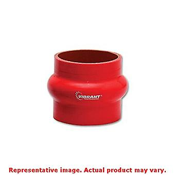 Vibrant (2737R) Red Silicone Hump Hose Coupler Sleeve