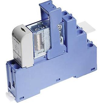 Finder 48.62.7.012.0050 Relaiskomponente Nennspannung: 12 V DC Schaltstrom (max.): 10 A 2 Umschaltungen 1 Stk.(s)