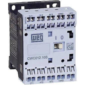 WEG CWC07-10-30D24S contactor 3 beslutsfattare 3 kW 230 V AC 7 A + extra kontakt 1 st. (s)