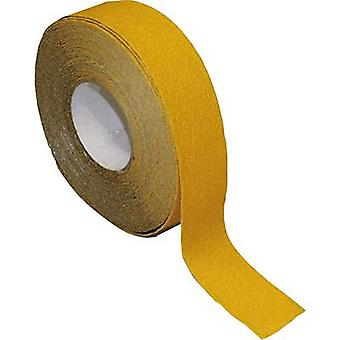 B-SAFETY AR240050 Anti-slip coating can be shaped Yellow (L x W) 18.3 m x 50 mm