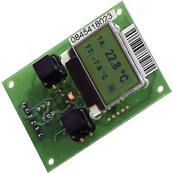 QuickCool QC-PC-D termoelektromos szabályzó kijelző (L x m x H) 50 x 68 x 24 mm