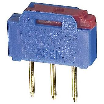 APEM NK236H Slide switch 12 V AC 0.5 A 1 x On/On 1 pc(s)